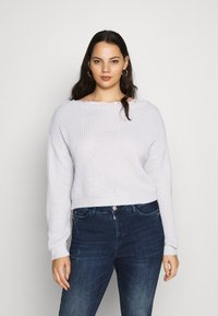 Missguided Plus - SHOULDER JUMPER - Jumper - grey - 0