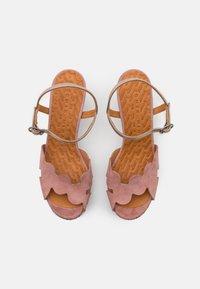 Chie Mihara - ELIS  - Sandalen met plateauzool - dali iron/shana natur - 4