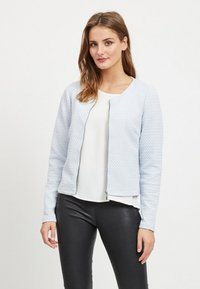 Vila - VINAJA NEW SHORT JACKET - Summer jacket - blue haze - 0