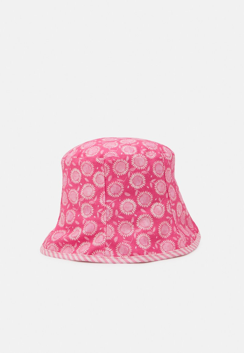 maximo - MINI GIRL REVERSIBLE - Hat - pink/wollweiß