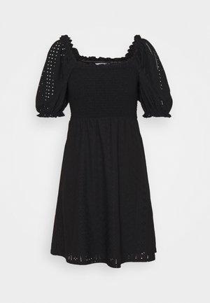 OBJRITTA DRESS - Vapaa-ajan mekko - black