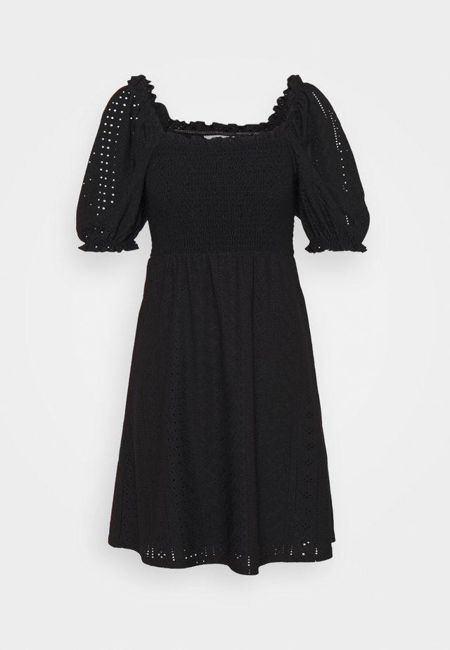 OBJRITTA DRESS - Sukienka letnia - black