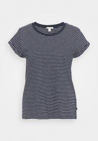 edc by Esprit - CORE - Print T-shirt - dark blue - 0