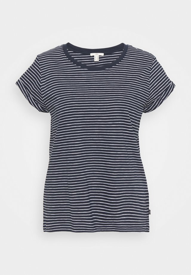 CORE - Print T-shirt - dark blue