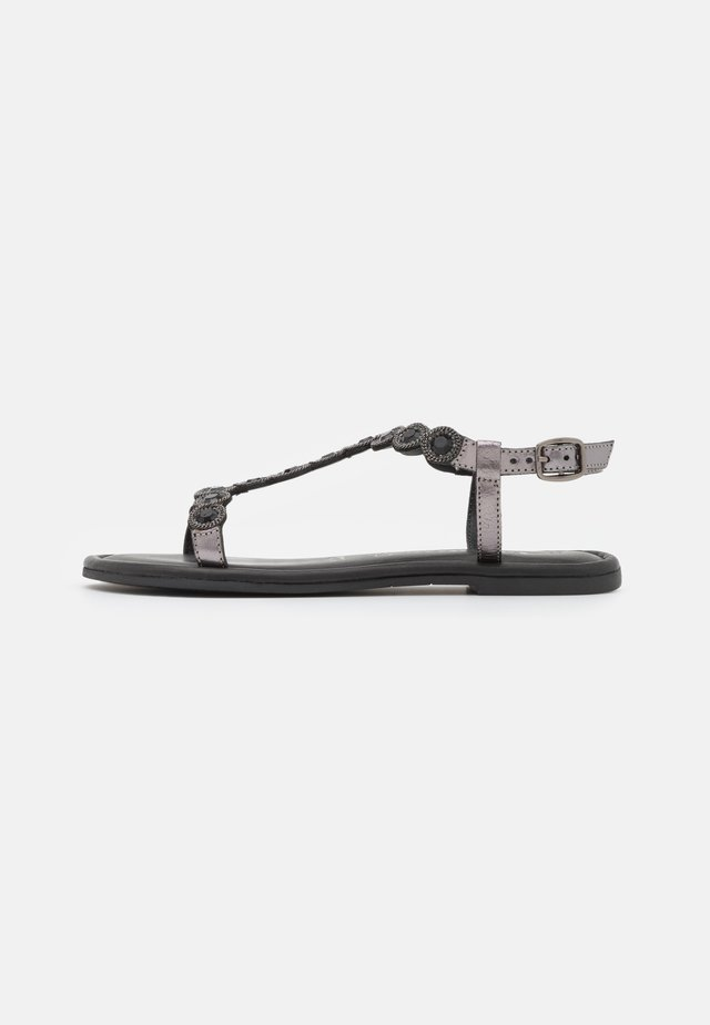 Sandały - pewter glam