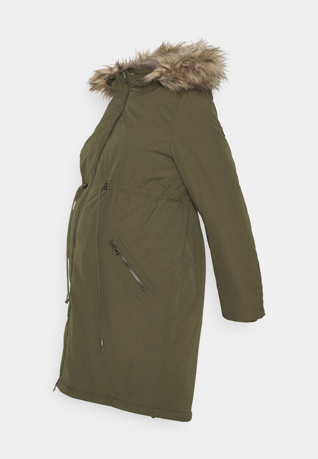 MLAMY 3IN1 PADDED COAT  - Parka - olive night