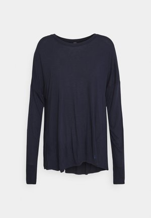 EASY PEAZY - Long sleeved top - navy blue