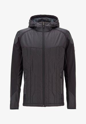 J_CERRO - veste en sweat zippée - black