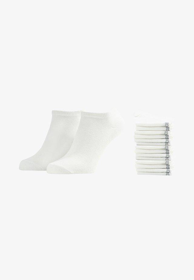 15 PACK - Sokken - weiß