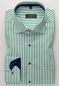 Eterna - COMFORT FIT - Shirt - grün/weiss - 3