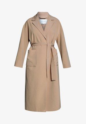 VICATE OVERSIZED LONG COAT - Zimní kabát - beige
