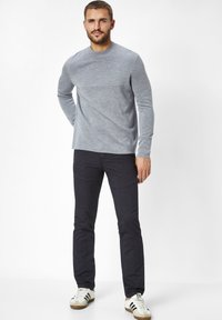 Paddock's - RANGER PIPE  - Slim fit jeans - anthracite - 1