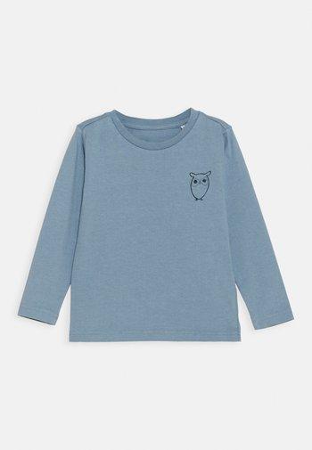 FLAX OWL LONG SLEEVE TEE  - Camiseta de manga larga - asley blue
