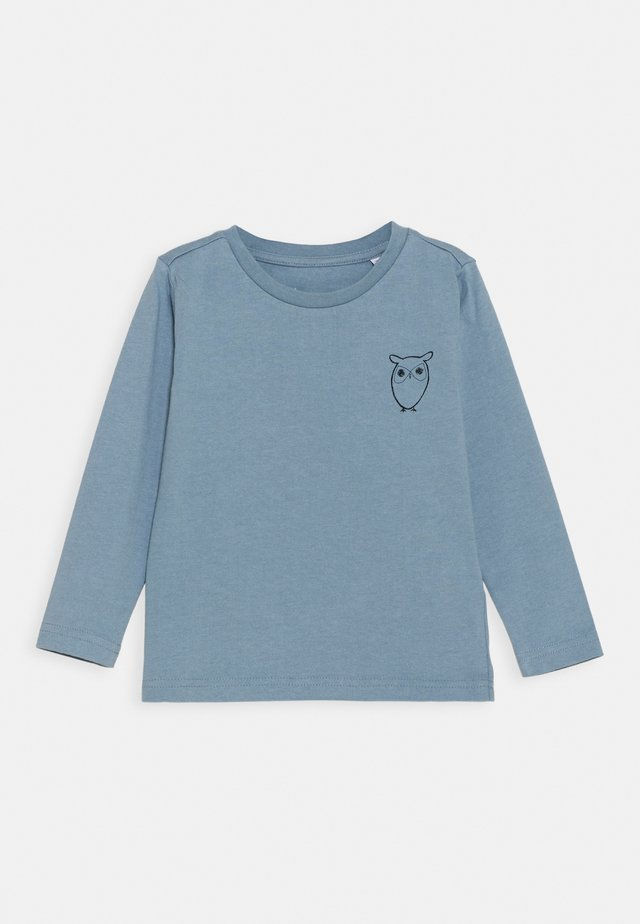 FLAX OWL LONG SLEEVE TEE  - Longsleeve - asley blue
