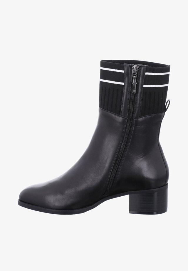 BRISTOL 06, SCHWARZ-WEISS - Ankle boots - schwarz-weiss