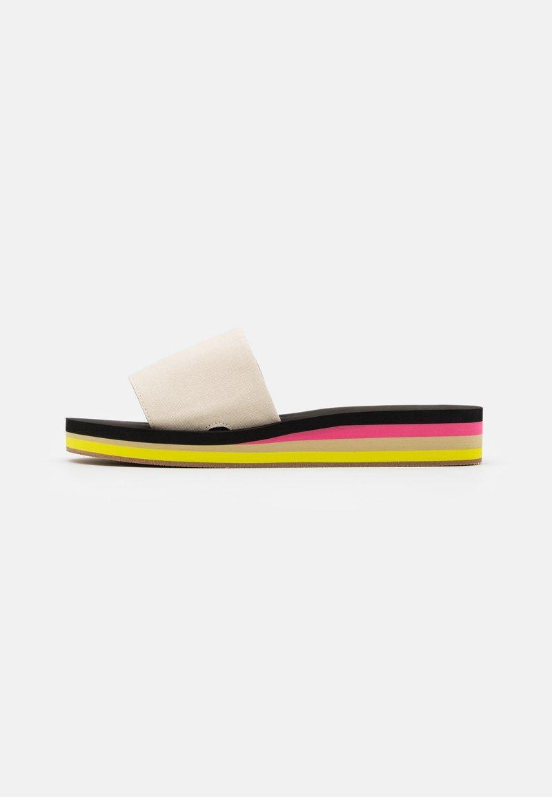 J.CREW - EVA - Pantofle - natural