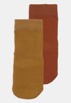 BASIC 2 PACK UNISEX - Sokken - honig/kupfer