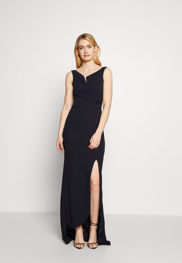 BARDOT DRESS - Day dress - navy