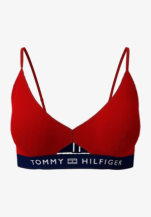 Bikini top - primary red