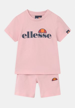 LEOPOLDI SET UNISEX - Kraťasy - light pink