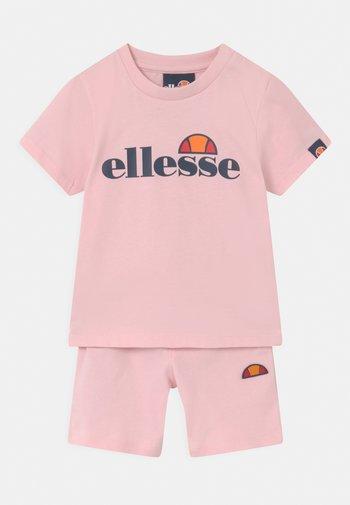 LEOPOLDI SET UNISEX - Shorts - light pink