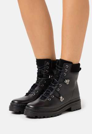 VMMERA BOOT - Lace-up ankle boots - black