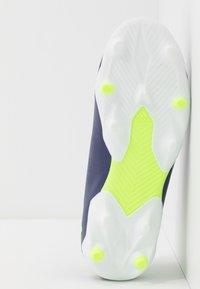 adidas Performance - NEMEZIZ MESSI 19.3 FG - Moulded stud football boots - tech indigo/signal green/glow purple - 5
