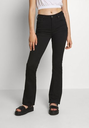BREESE BOOT - Jeans bootcut - black rinse