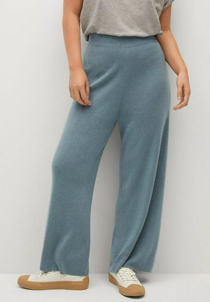 OLIVIA - Trousers - verde bosco