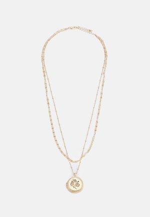 PCCHILI COMBI LONG NECKLACE - Necklace - gold color