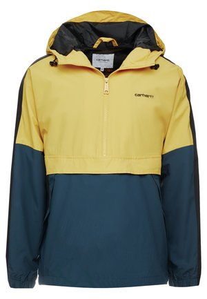 BARNES  - Windbreaker - colza/duck blue/black