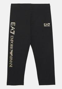 Emporio Armani - EA7  - Legíny - black - 0