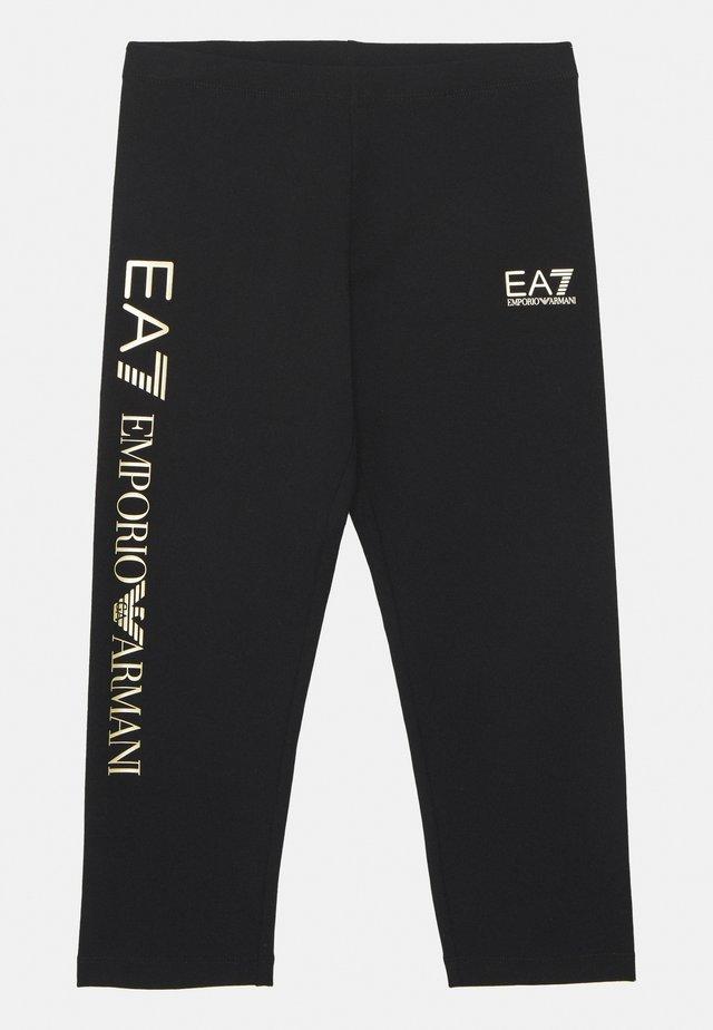 EA7  - Legíny - black