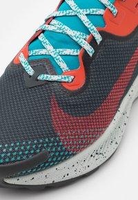 Nike Performance - PEGASUS TRAIL 2 GTX - Løbesko trail - dark smoke grey/bright crimson - 5