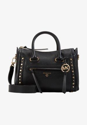 CARINE SATCHELPEBBLE - Handbag - black