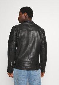 Freaky Nation - CRUISE ACTION - Leather jacket - black - 2