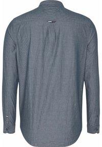 Tommy Jeans - SEERSUCKER MAO  - Shirt - blue - 1