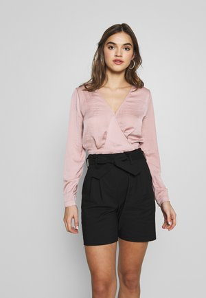 LOVELY WRAP BLOUSE - Bluser - pink