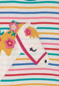 Frugi - CAMILLE APPLIQUE HORSE TEE - Triko spotiskem - white - 2