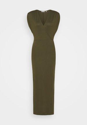 Vestido largo - urban kaki