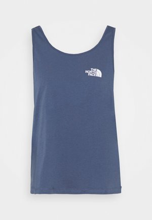 SIMPLE DOME TANK - Top - vintage indigo