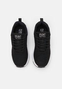 NAE Vegan Shoes - JORDAN VEGAN  - Sneakers laag - black - 5