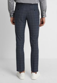 Selected Homme - SLHONE-MYLOAIR CHECK SUIT - Garnitur - dark blue - 5