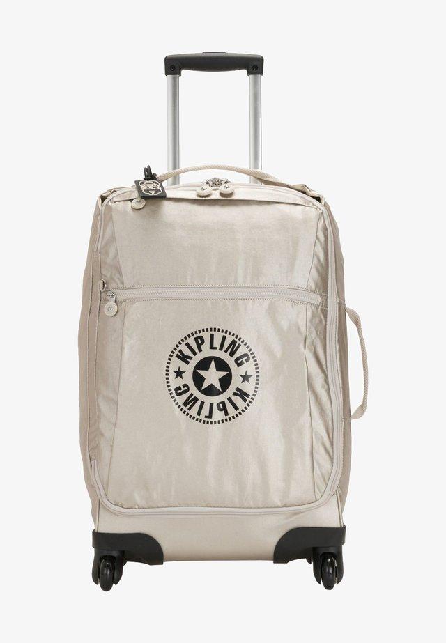 Wheeled suitcase - cloud metal c