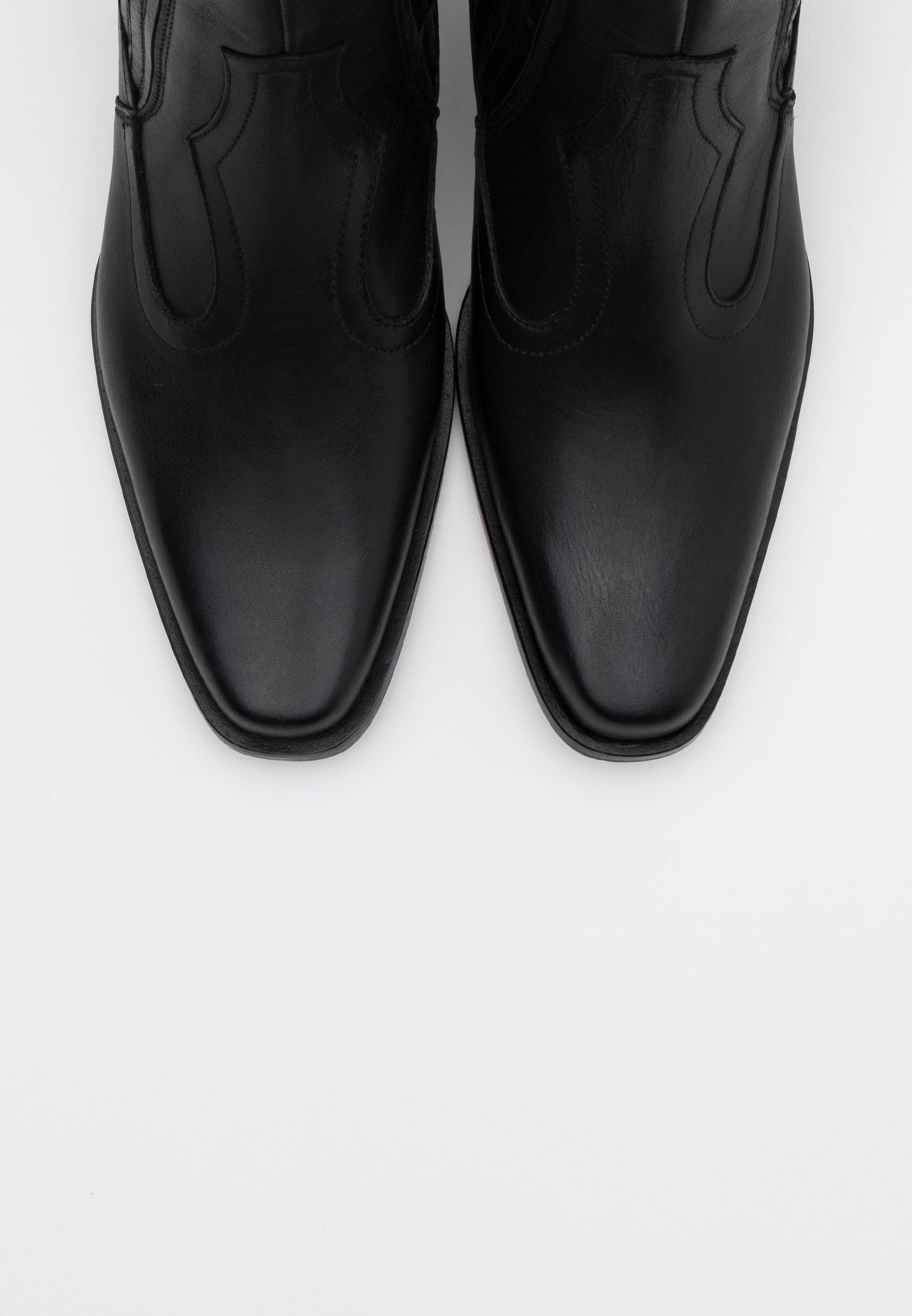 Toral Cowboystøvletter - Black/svart
