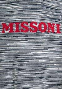 Missoni - SHORT SLEEVE - T-shirt print - bianco/blu - 5