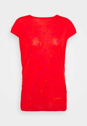 TEKOA - T-shirt con stampa - mars red