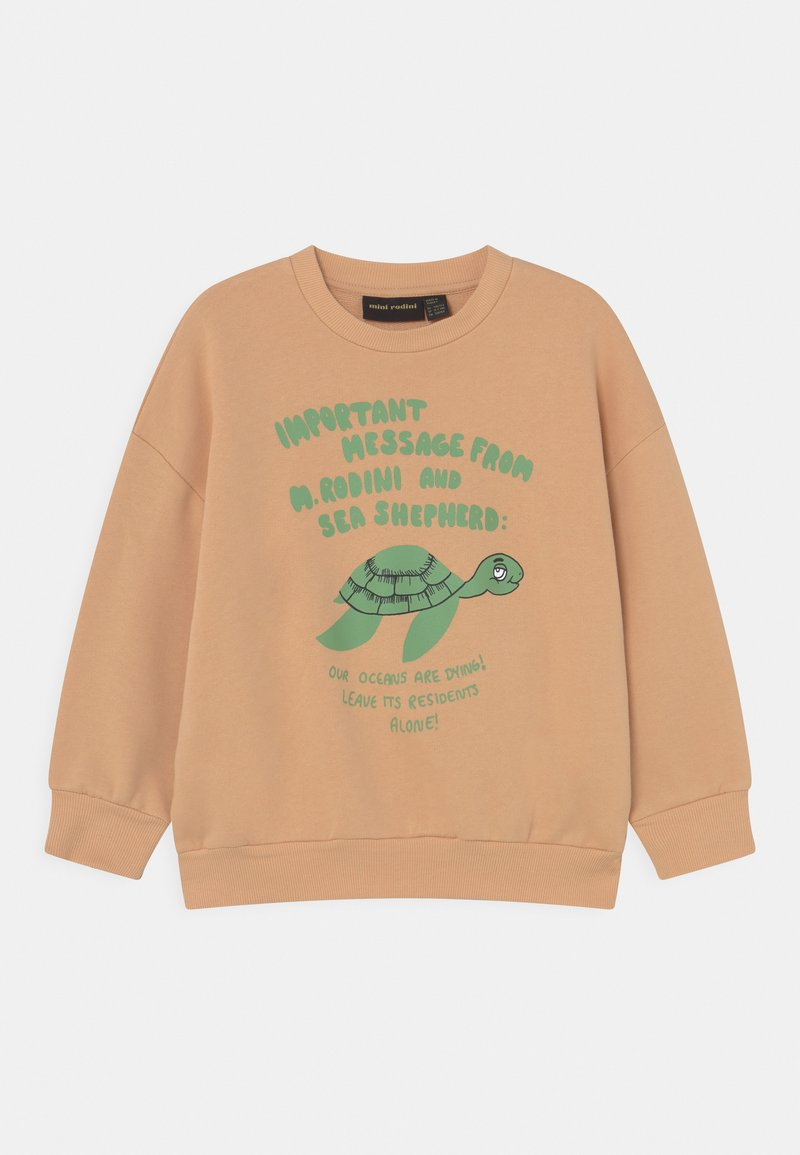 Mini Rodini - TURTLE UNISEX - Sweatshirt - beige