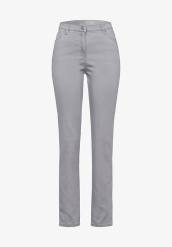 STYLE INA - Jeans Slim Fit - grey