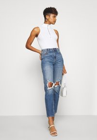 Nly by Nelly - HIGH NECK BIKE - Top - white - 1